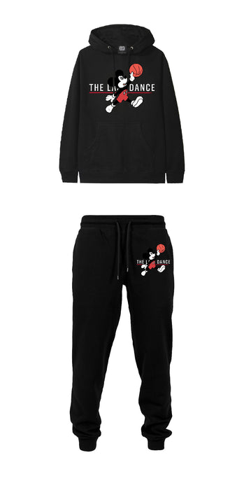 Leroyaume Ensemble Sweat-shirt Jogging Mickey Jordan logo