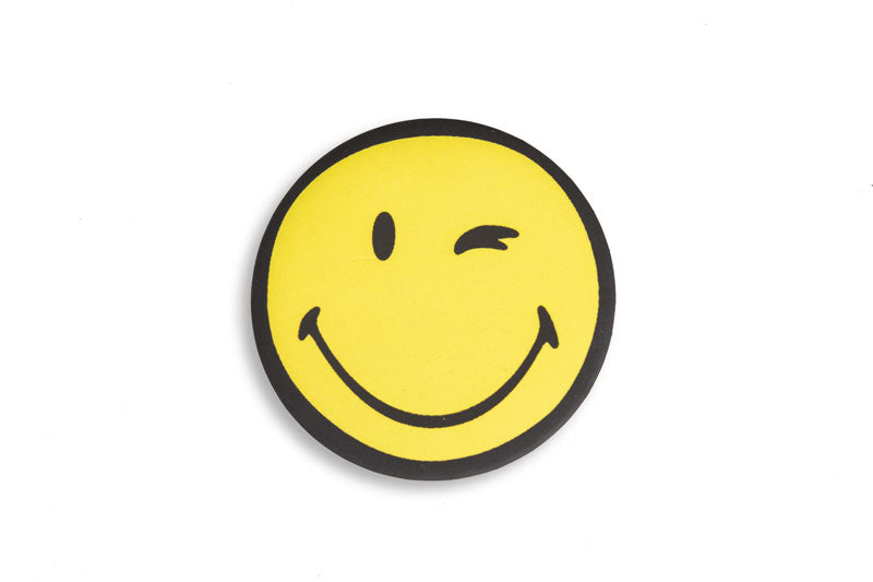 Leroyaume Blame Society Not God Smiley Badge