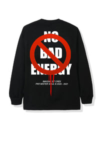 T-SHIRT GRAPHIC MANCHE LONGUE - NO BAD ENERGY - LEROYAUME