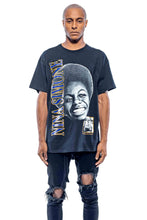 Load image into Gallery viewer, Leroyaume T-shirt Streetwear Nina Simone Feeling Good Black Face Porté Face