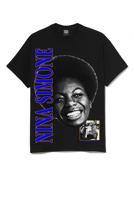 Leroyaume T-shirt Streetwear Nina Simone Feeling Good Black Face