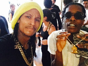 Lestwins Fantaisie Chain Or  Porté par Asap Rocy