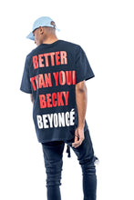 Load image into Gallery viewer, Leroyaume T-shirt Streetwear Lemonade Beyonce Black Face Porté Dos