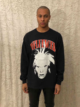Load image into Gallery viewer, Leroyaume T-shirt Manche Longue Streetwear Influencer Warhol Black Face Porté Homme