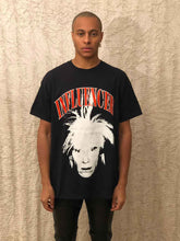 Load image into Gallery viewer, Leroyaume T-shirt Streetwear Influencer Warhol Black Face Porté