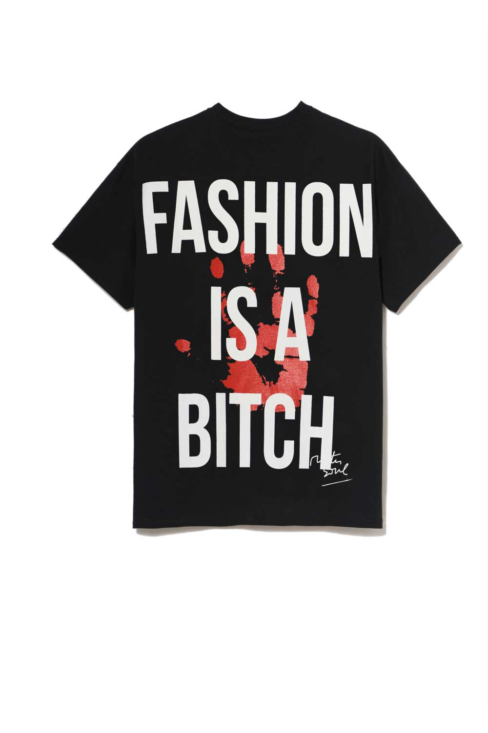 Leroyaume T-shirt streetwear fashion is a bitch noir