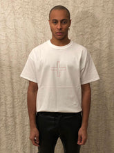 Load image into Gallery viewer, Leroyaume t-shirt streetwear plus blanc porté face