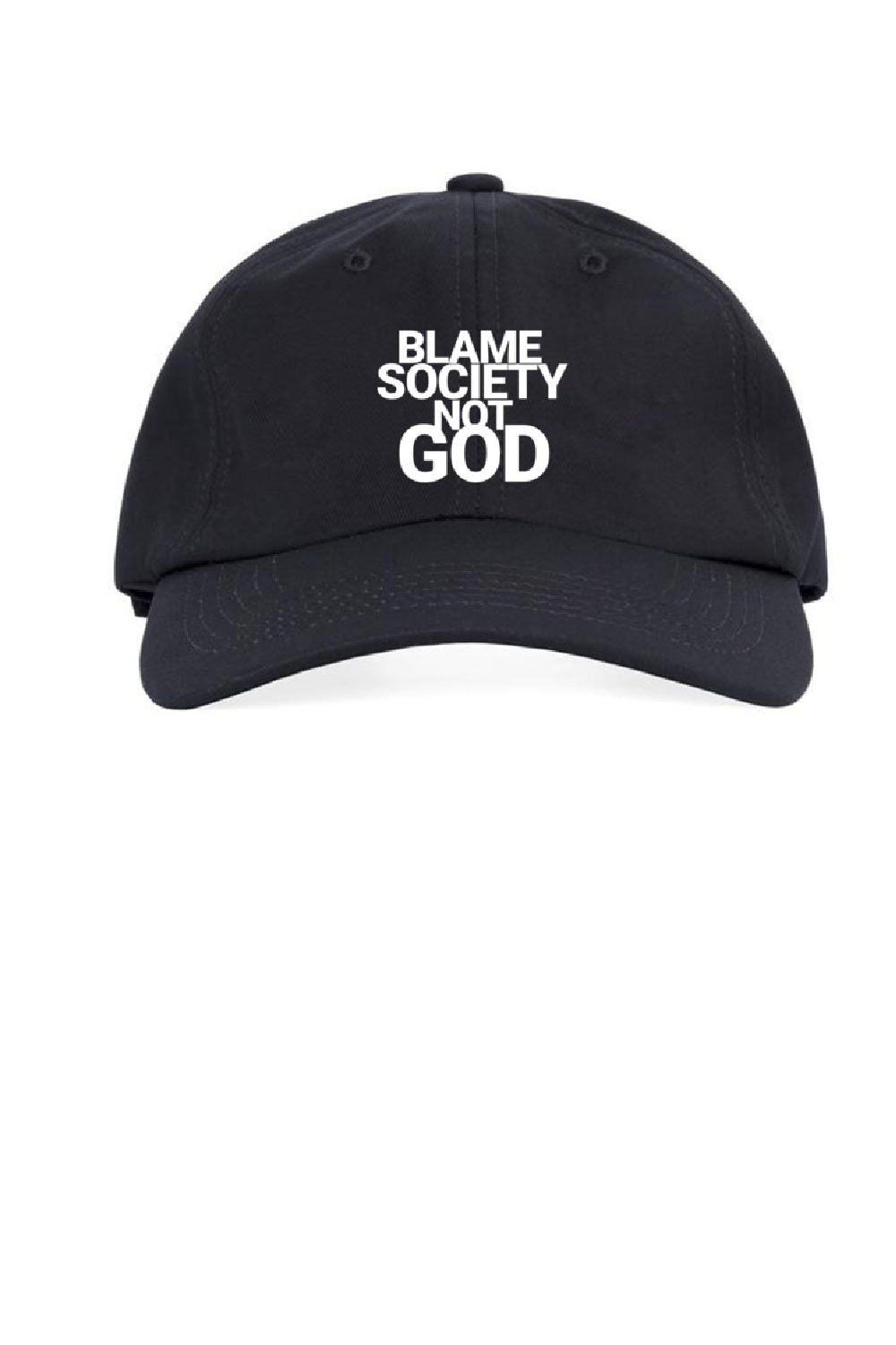 Blame Society Not God Classic Cap