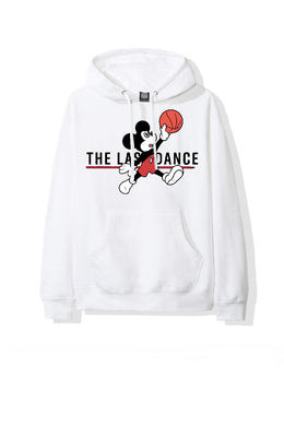 Leroayume Sweat shirt Mickey Jordan Blanc