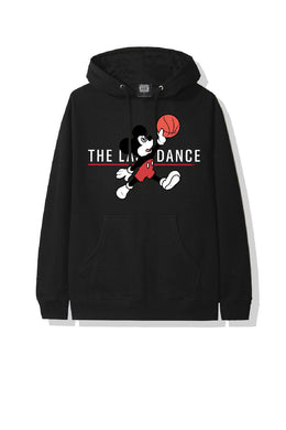 Leroayume Sweat shirt Mickey Jordan Noir