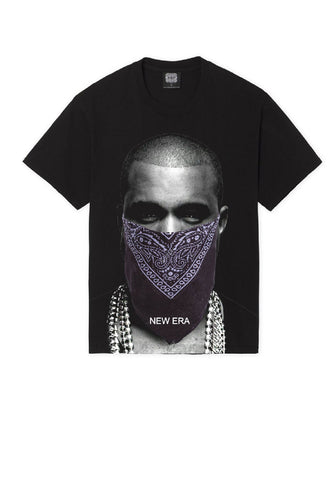 Leroyaume T-shirt New Era Kanye West Black Face