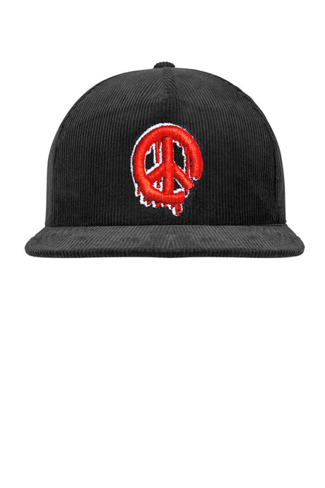 Leroyaume Casquette Brodé Peace and Freedom