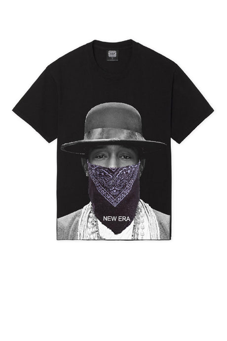 Leroyaume T-shirt New Era Pharell Williams Black Face