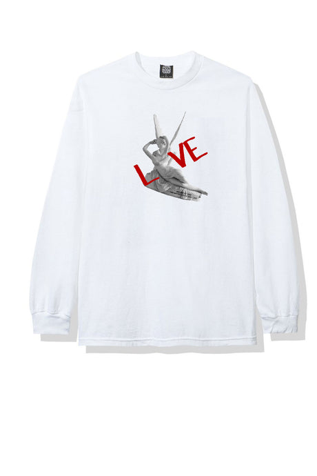 Leroyaume T-shirt Graphic Love Kiss Blanc