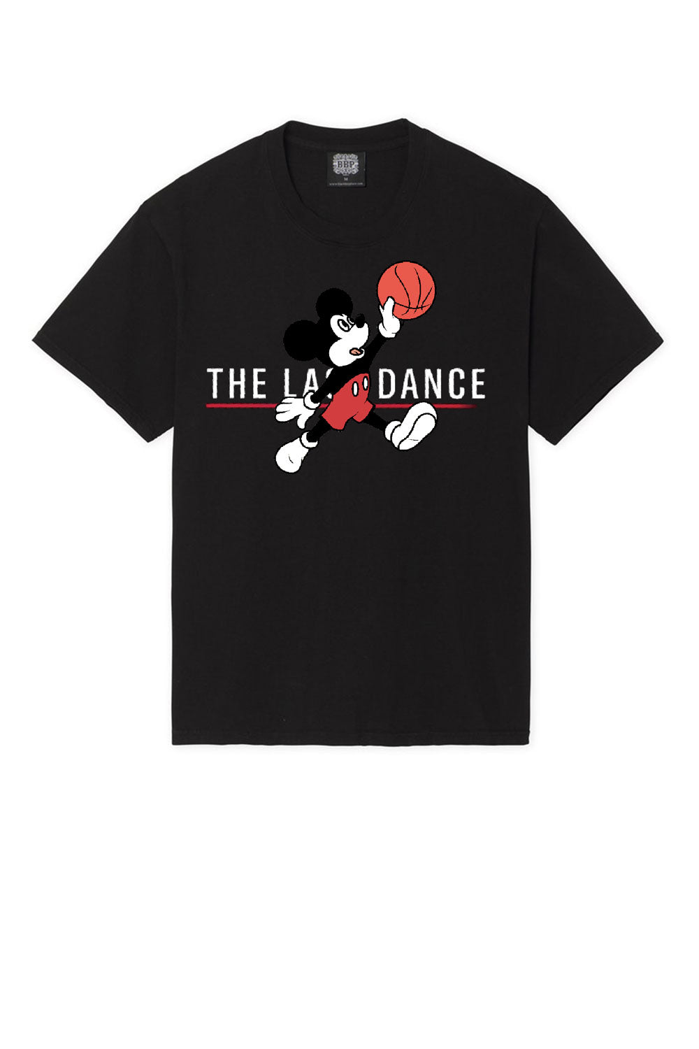 Leroyaume T-shirt Mick Fly The Last dance Noir