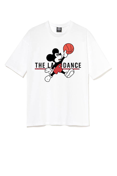 Leroyaume T-shirt Mick Fly The Last dance Blanc