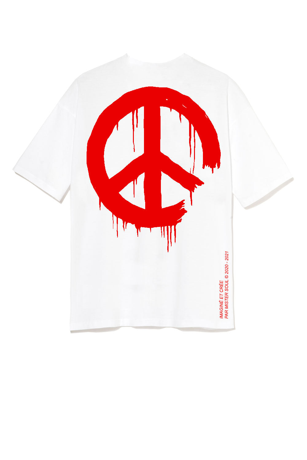 Leroyaume T-shirt Peace and Freedom Logo