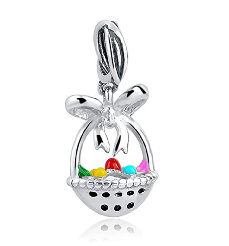 Easter Eggs Fruits Basket Bead Charm - Bolenvi Pandora Disney