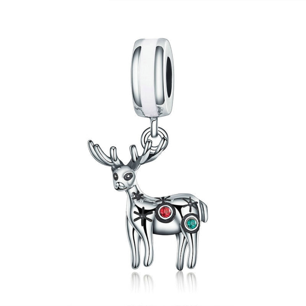 Colorful Deer Bead Charm - Bolenvi Pandora Disney