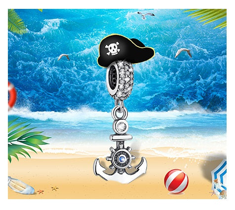 Sailors Anchor Bead Charm - Bolenvi Pandora Disney