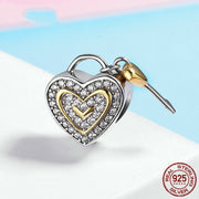 Love You Forever Bead Charm - Bolenvi Pandora Disney