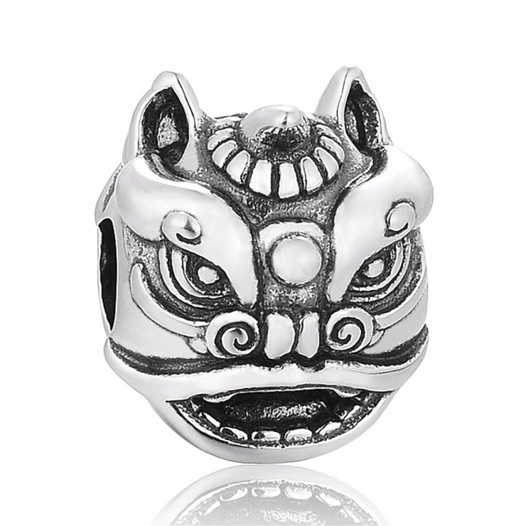 Dancing Lion Dragon Bead Charm - Bolenvi Pandora Disney