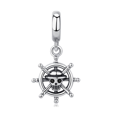 Pirate Steering Wheel Bead Charm - Bolenvi Pandora Disney