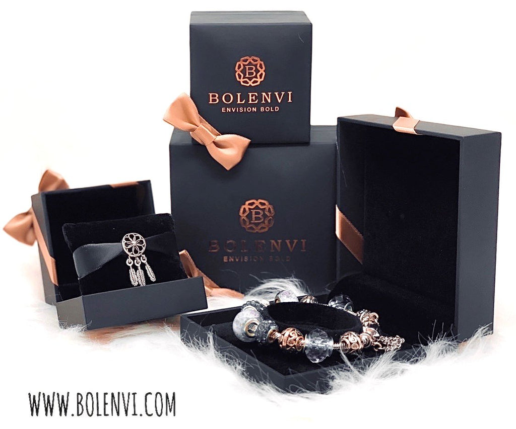 Bolenvi Luxury Gift Packaging Set - Bolenvi Pandora Disney Chamilia Jewelry
