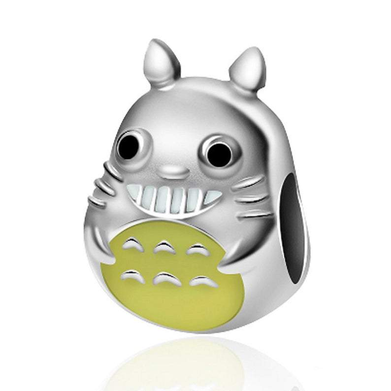 My Neighbor Totoro Anime Sterling Silver Bead Charm - Bolenvi Pandora Disney Chamilia Jewelry