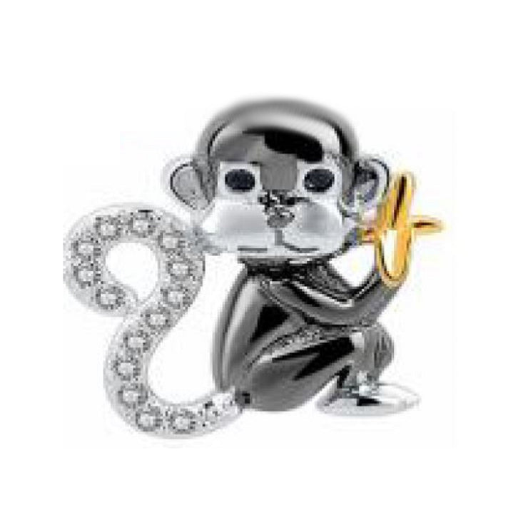 Monkey Going Bananas Bead Charm - Bolenvi Pandora Disney