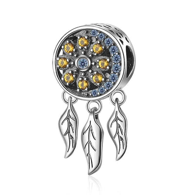 Sun and Moon Dreamcatcher Bead Charm - Bolenvi