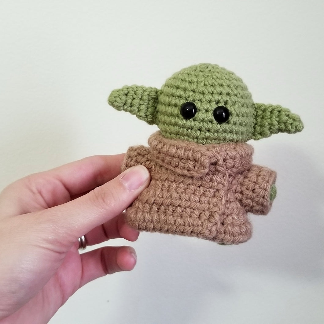 The Yoda Child Pocket Poppet by Freak + Pocky