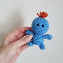 Load image into Gallery viewer, Mr. Meeseeks Pocket Poppet by Freak + Pocky