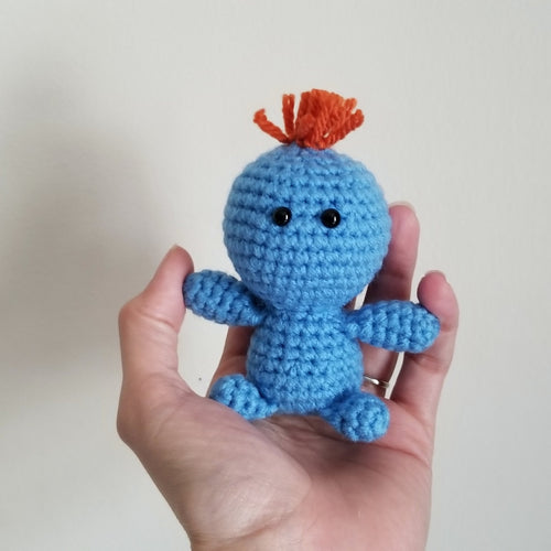 Mr. Meeseeks Pocket Poppet by Freak + Pocky