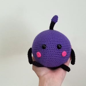 Purple Junimo the Forest Spirit Poppet by Freak and Pocky