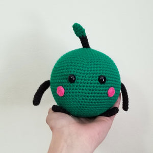 Green Junimo the Forest Spirit Poppet by Freak and Pocky