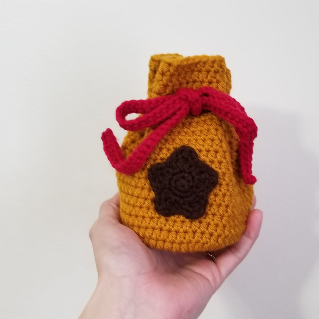 Animal Crossing Bell Bag Dice Bag by Freak and Pocky