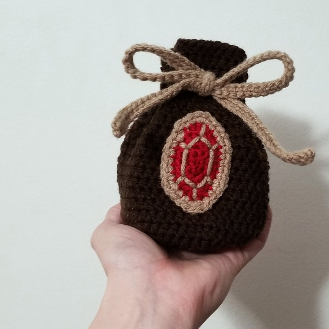 Zelda Rupee Pouch Dice Bag by Freak and Pocky