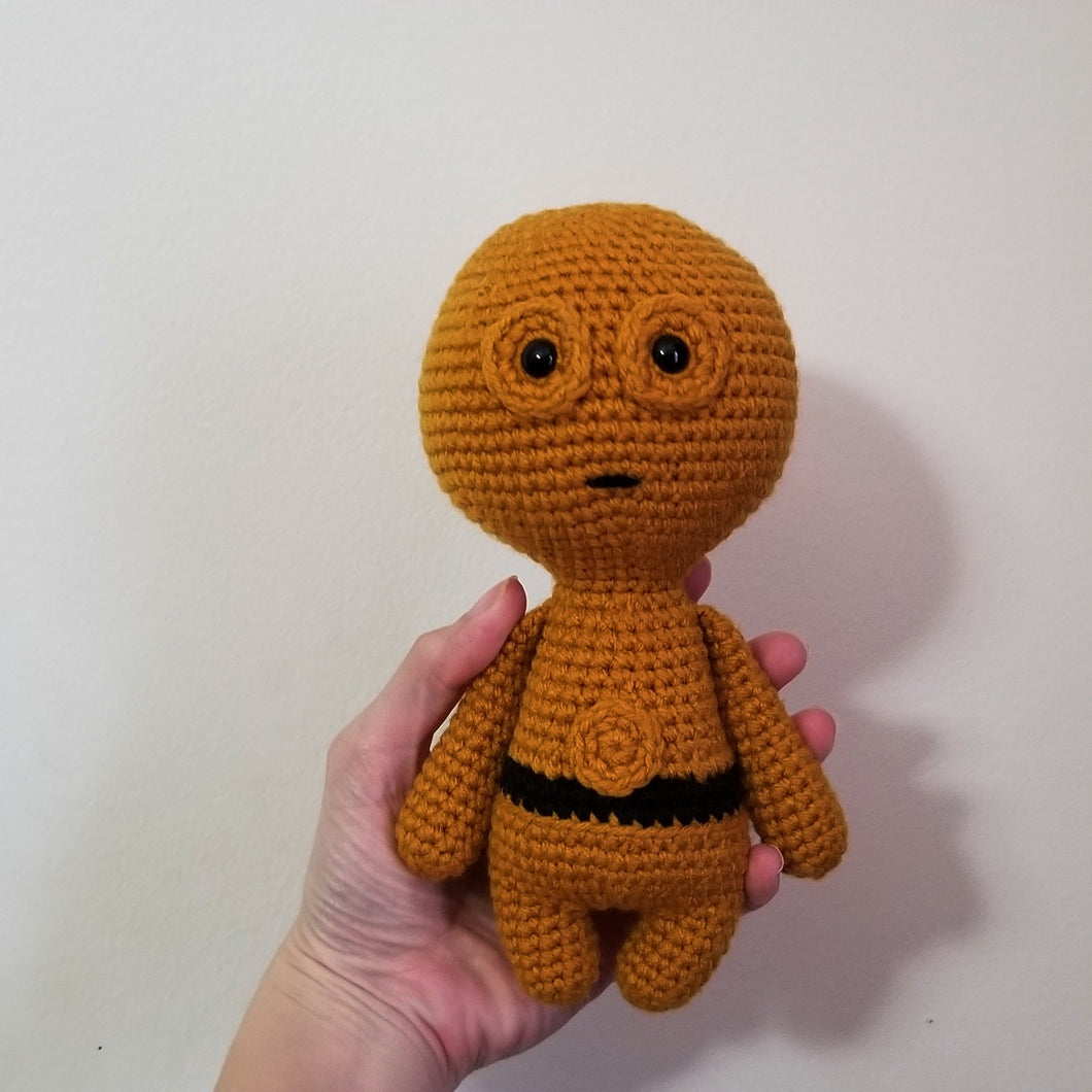 Golden Droid Poppet