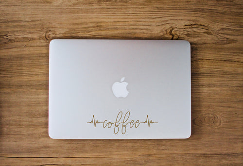 Coffee Heartbeat Decal by Freak + Pocky