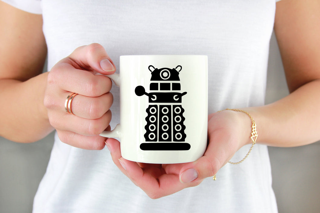 Dalek Vinyl Decal - Freak + Pocky