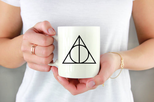 Deathly Hallows Vinyl Decal