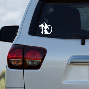 Dragon & Dragon Rider Decal by Freak + Pocky