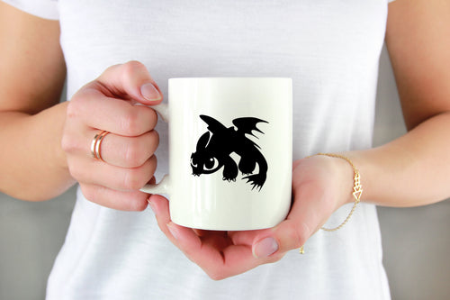 Toothless the Dragon Vinyl Decal