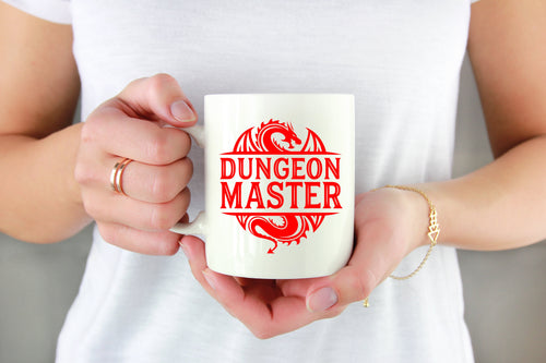 Dungeon Master Vinyl Decal