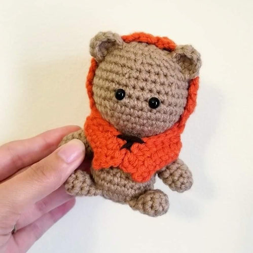 Ewok the Galaxy Bear Pocket Poppet by Freak + Pocky