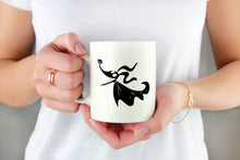 Load image into Gallery viewer, Zero the Ghost Dog Decal on Mug | Freak + Pocky