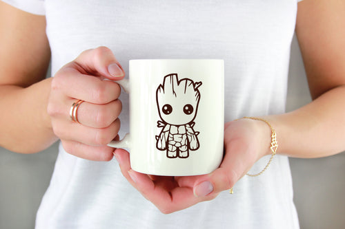Baby Groot Vinyl Decal - Freak + Pocky