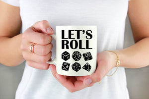 Let's Roll Dice Vinyl Decal