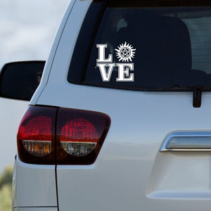 Supernatural Love Decal by Freak + Pocky